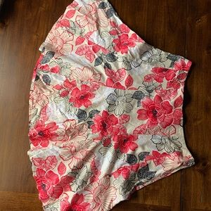 New! New York & Company Floral Skirt